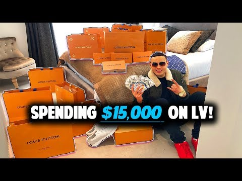 22Yr Old Forex Trader Spends $15,000 At Louis Vuitton