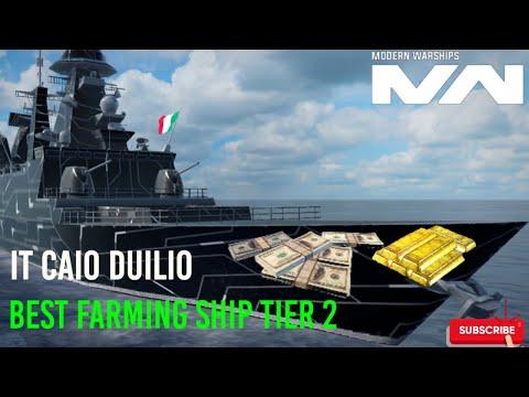 Modern Warships Best Farming Ships Tier 2