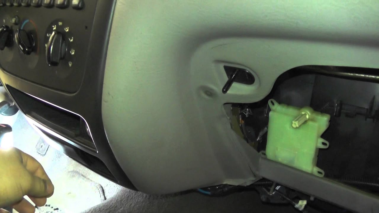 2001 Ford Taurus Blend Door Actuator Operation YouTube