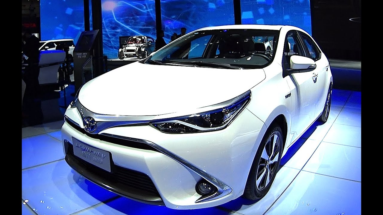 Toyota has updated the whole range of Corolla 2017, 2018 ...