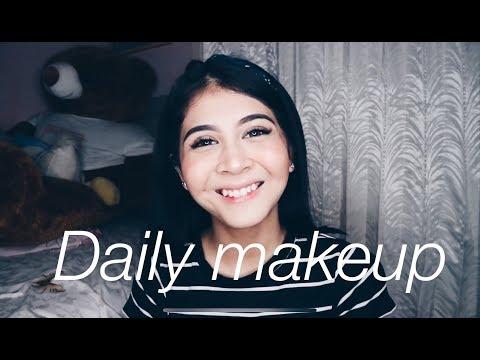 My Go To Campus Makeup Look (update) 2018!