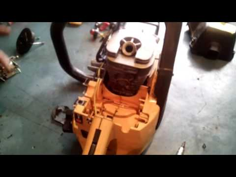 Инструкция по заправке и запуску бензопилы