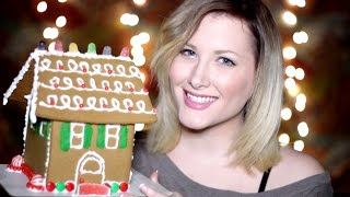 Let's Make A Gingerbread House For Relaxation (binaural Asmr)