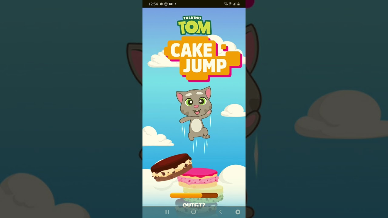 KORIS PLAYS MY TALKING TOM CAKE JUMP!?!?