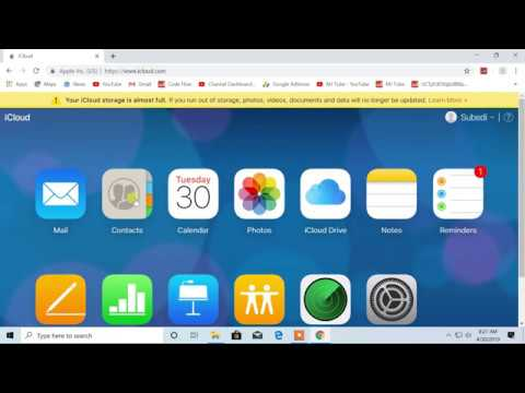 How To Transfer Contacts From IPhone (icloud) To Pc, Import And Export Contact