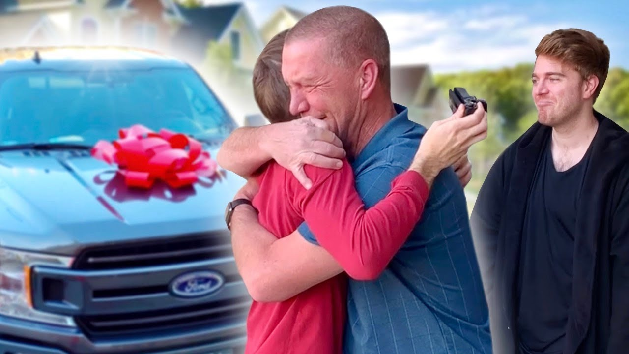 Surprising My Dad With His Dream Car - Youtube-3324