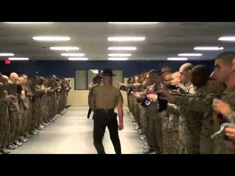 3rd BN Lima Co SDI Speech and Walkout Parris Island