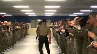 3rd BN Lima Co SDI Speech and Walkout