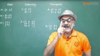ICSE | Matrices | Maths