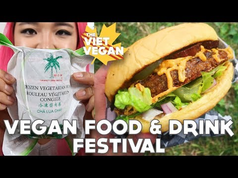 Where I Buy Cha Lua & Vegan Food & Drink Festival ft. CheapLazyVegan