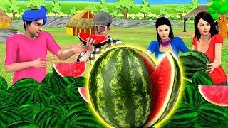 तरबूज वाला Hindi Kahaniya - Fruitswala Hindi Moral Stories - Bedtime Stories - Hindi Fairy Tales