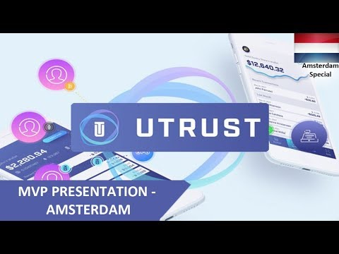 UTRUST MVP Presentation in Amsterdam - Tamil - April 19
