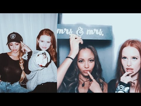 Madelaine Petsch and Vanessa Morgan FunnyCute Moments