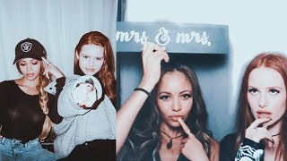 Madelaine Petsch and Vanessa Morgan Funny/Cute Moments