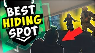 This Hiding Spot Worked THREE Times - Ranked Gameplay - Rainbow Six : Siege