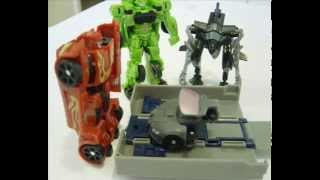 Transformer ROTF Sideways legends class stop motion(audi r8 commercial)