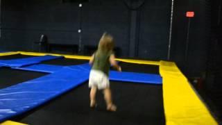 Madeline at the jump park=FAIL