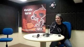 98FM Curitiba - Marco Luque Entrevista na rádio 98
