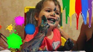 VLOG  Алена рисует Детскими ПАЛЬЧИКОВЫМИ КРАСКАМИ. Видео для Детей. ДОЧКИ МАТЕРИ.(Алена рисует Детскими ПАЛЬЧИКОВЫМИ КРАСКАМИ. Алена играет вместе с мамой и папой.ПАЛЬЧИКОВЫЕ КРАСКИ очень..., 2016-09-02T17:37:35.000Z)