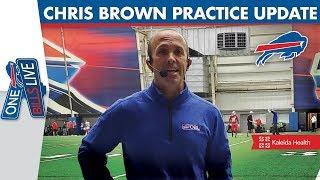 Singletary & Kroft Return From Injury | Bills Insider Chris Brown