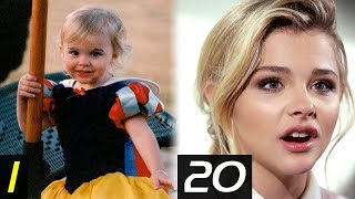 CHLOË GRACE MORETZ - From 0 To 20 Years   Transformation   Then and Now   Childhood   Before famous