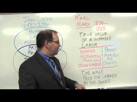 John Locke & Karl Marx: Whose Capitalism? Whose Socialism?