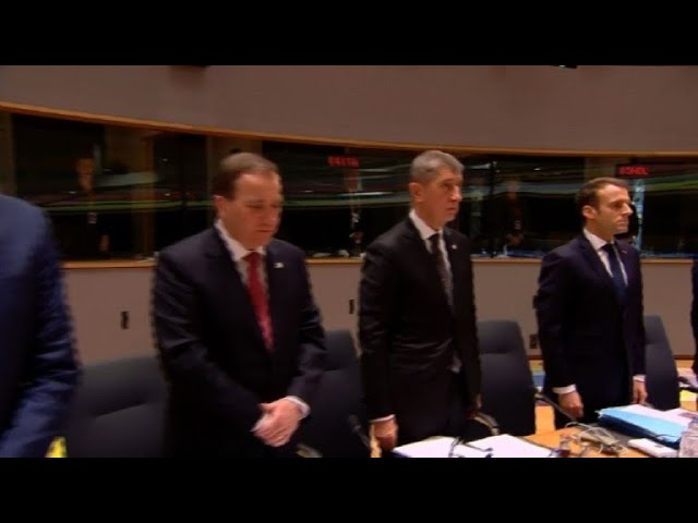 Minute of silence in the EU Council for Strasbourg victims