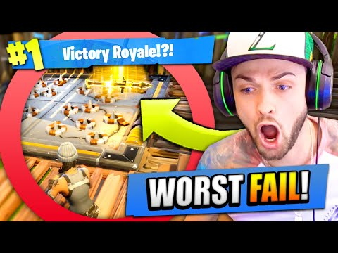 My BIGGEST FAIL in Fortnite: Battle Royale!