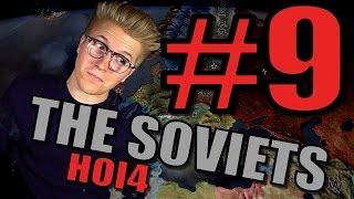 Hearts of Iron 4 – Soviet Union 1936 Gameplay [HOI4 World War 2] Part 9 - Communism to Turkey!