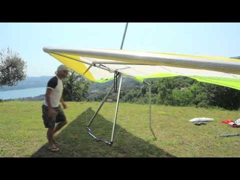 Icaro2000 RX2 hang glider set up
