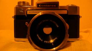 zeiss ikon contarex professional 35mm SLR camera for sale on ebay, timer test/demo