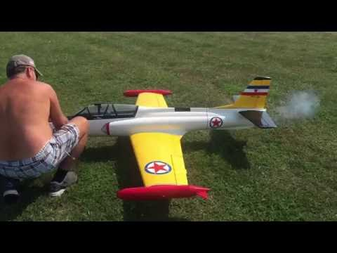 Jet RC plane in Serbia