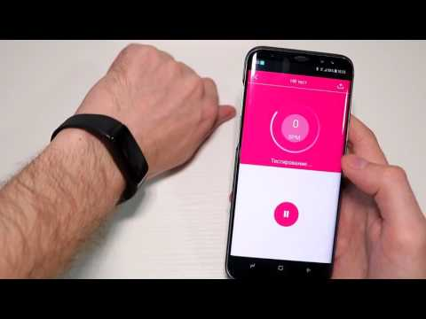 Умный Браслет Heart Rate Monitor V07 с измерением артериального давления для Android и IOS SmartBand
