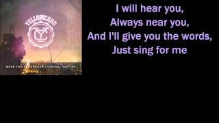 Sing For Me by Yellowcard Lyrics
