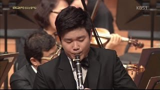 Han Kim plays G.Rossini's Introduction, Theme and Variations for Clarinet and Orchestra thumbnail