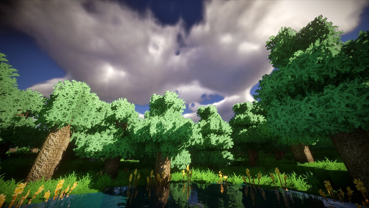 3d Parallax Wallpaper Pro Minecraft Shader Tutorial How To Enable Volumetric