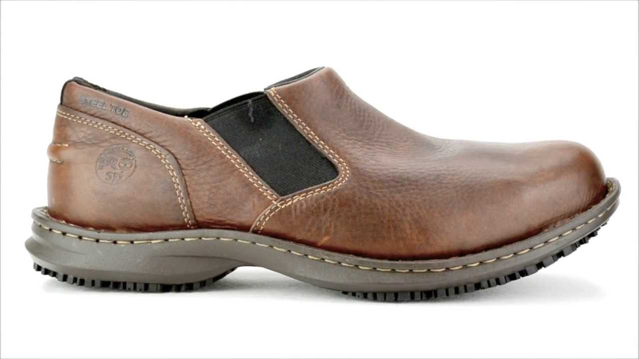 Gallery For gt Mens Slip On Work Shoes