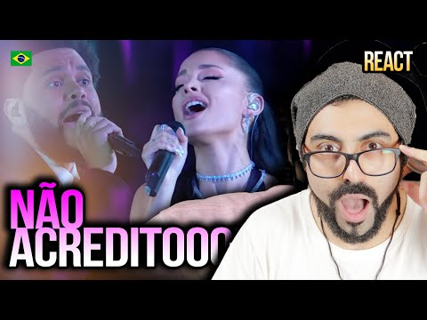REAGINDO A The Weeknd & Ariana Grande – Save Your Tears (Live on The 2021 iHeart Radio Music Awards)