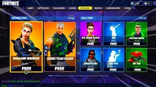 HOW TO GET SKINS FROM SHOP FREE IN FORTNITE