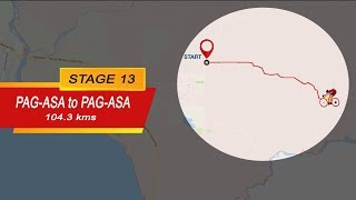 2018 Ronda Pilipinas Stage 13 Highlights