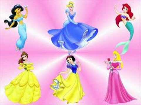 Princesas disney youtube - Muebles de princesas disney ...