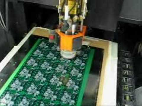Pcb Cnc Circuit Board Drilling Machine