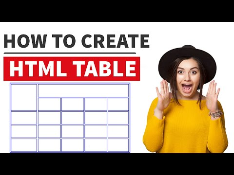 HTML Table | ( Table Tr Th Td ) | See Brief And Practical Example #10