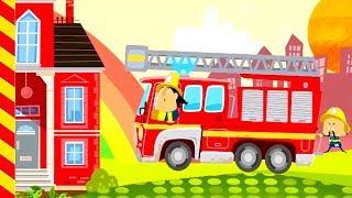 Мультик про пожарных. Пожарные машины мультфильм про пожар. Машинки мультики. Про пожарную машину