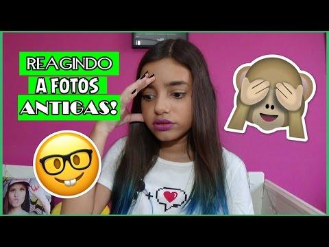 REAGINDO A FOTOS ANTIGAS DO FACEBOOK! LOOKS E POSTAGENS!