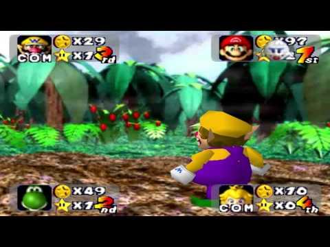 Mario Party 1 - DK Jungle Adventure