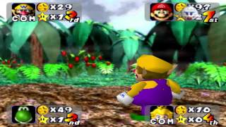Mario Party 1 - DK Jungle Adventure