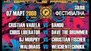 Waldhaus vs. Weichentechnikk -Live @ RENESANZ Battle Arena II - Festivalna Hall, Sofia,Bulgarien)