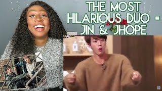The Most Hilarious Duo | Jin & Jhope ♡♡ Bts Reaction