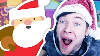 VISITING SANTA'S OWN WEBSITE?!!